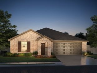 The Oleander - DeBerry Reserve: Royse City, Texas - Meritage Homes