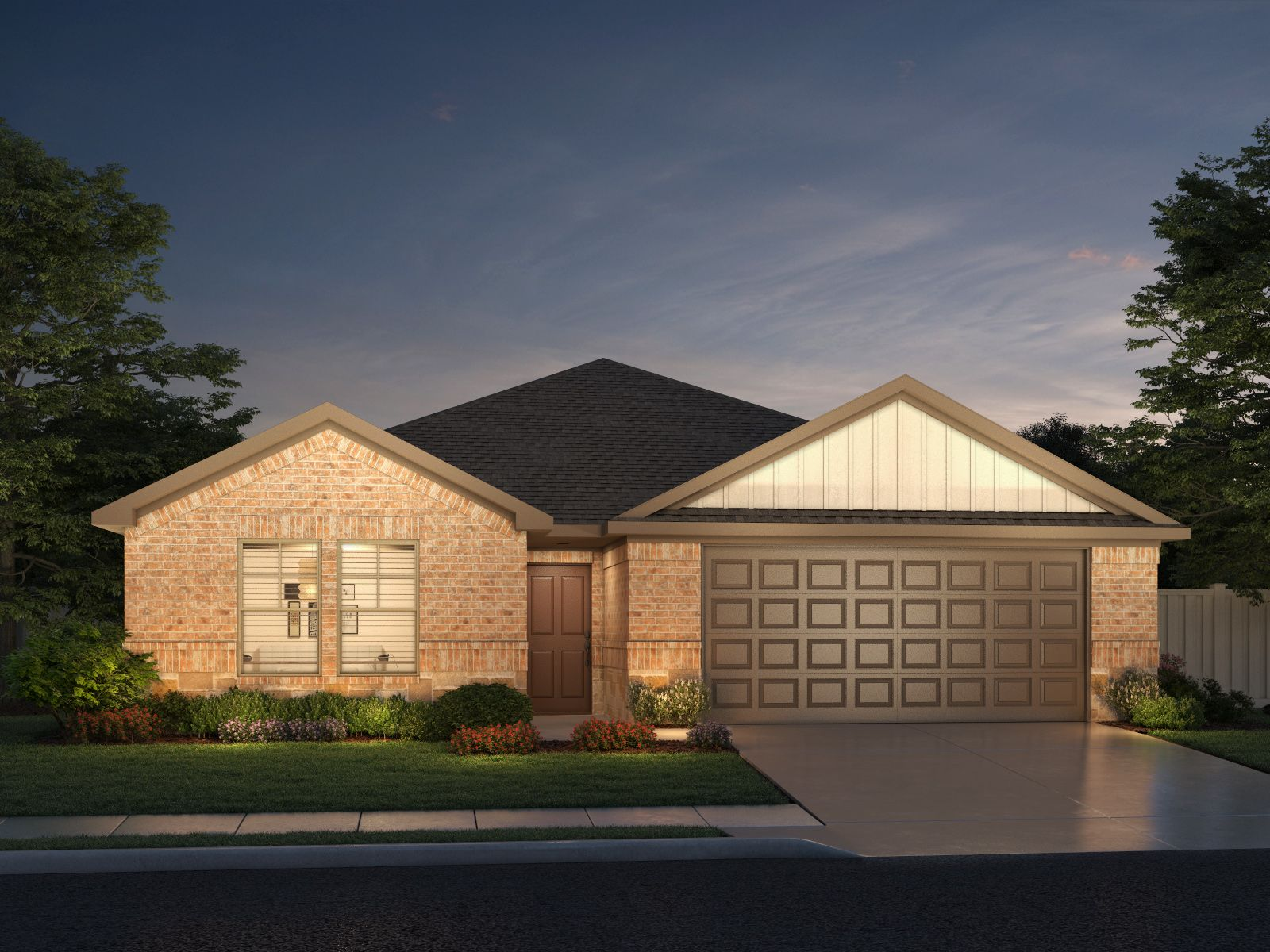 Exterior featured in The Oleander By Meritage Homes in Dallas, TX