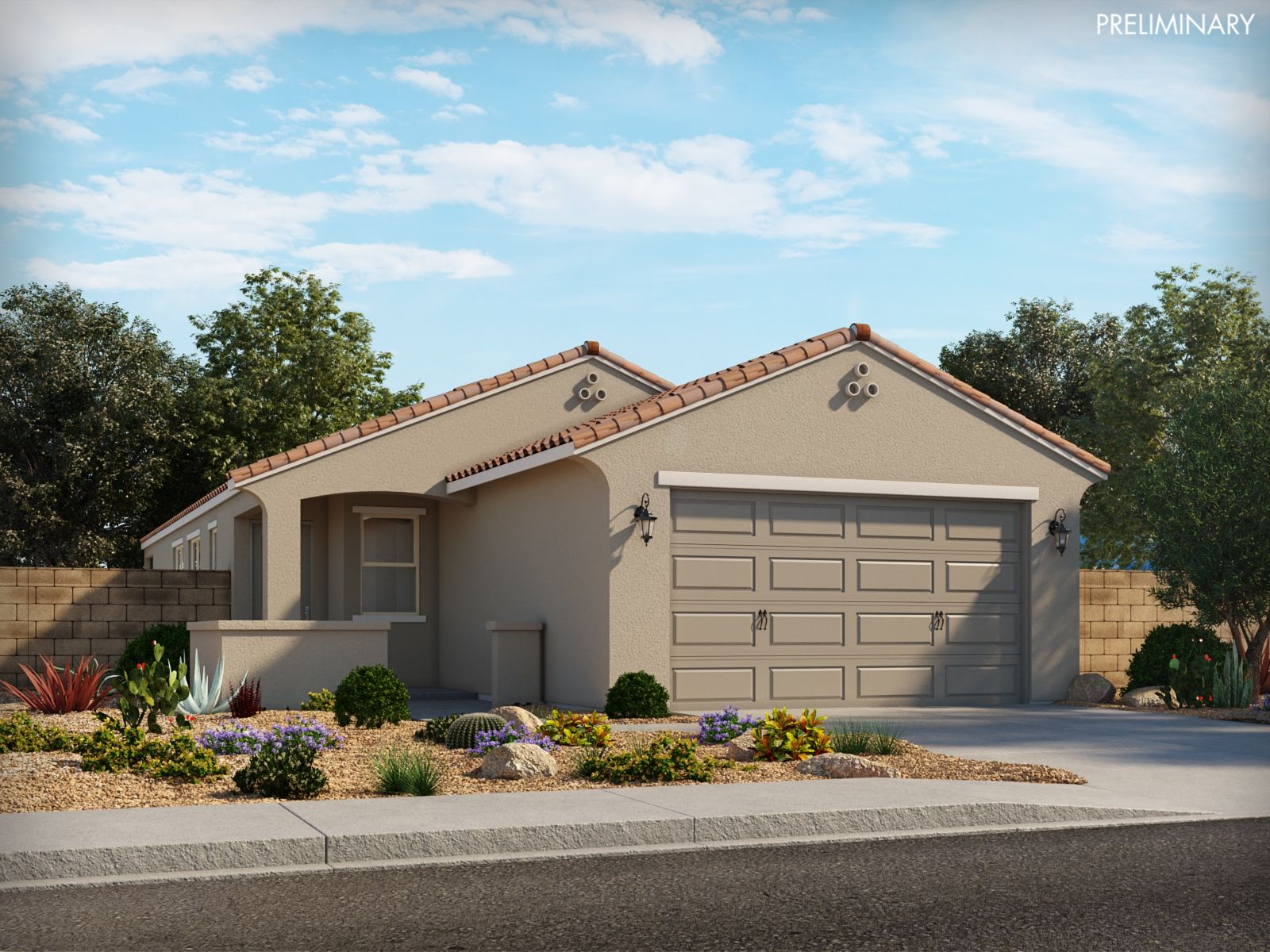 Exterior featured in the Bennett By Meritage Homes in Phoenix-Mesa, AZ