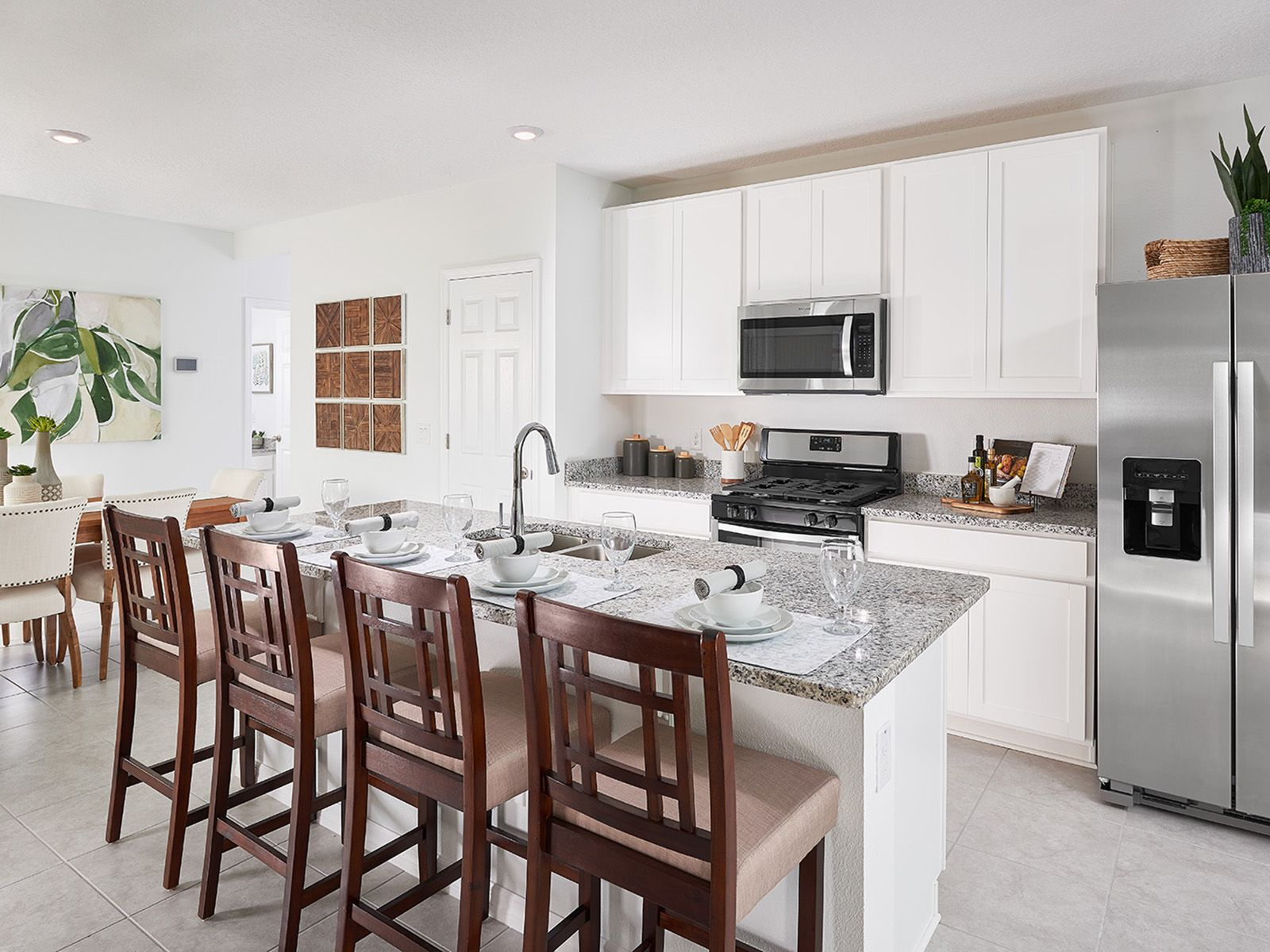 Kitchen featured in the Everglade By Meritage Homes in Orlando, FL
