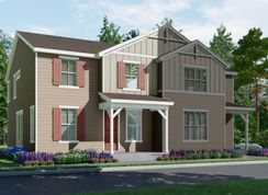 The Buena Vista - Village at Southgate: The Town Collection: Brighton, Colorado - Meritage Homes