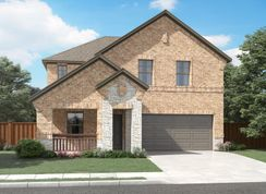 The Winedale - Parkside Village: Royse City, Texas - Meritage Homes