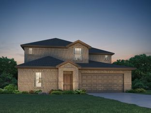 The Pearl (C452) - Montgomery Oaks - Estate: Conroe, Texas - Meritage Homes