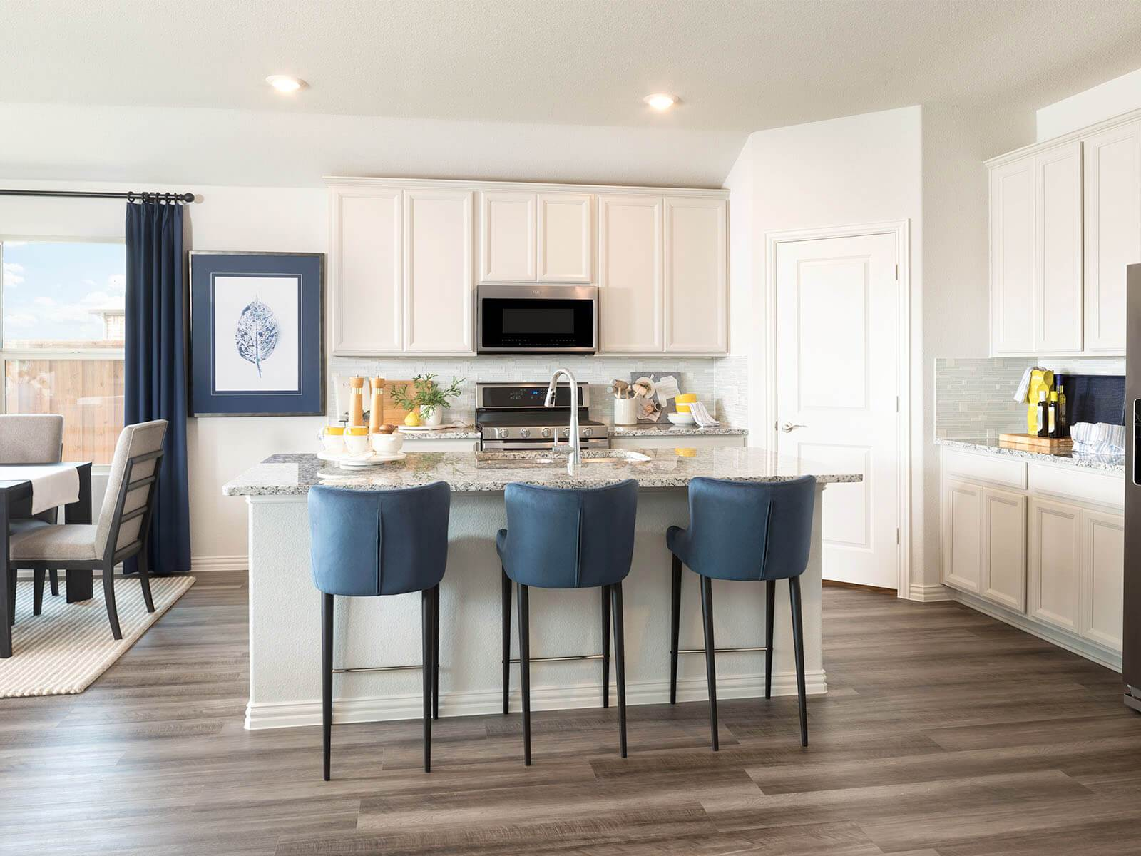 Kitchen featured in The Preston By Meritage Homes in Dallas, TX