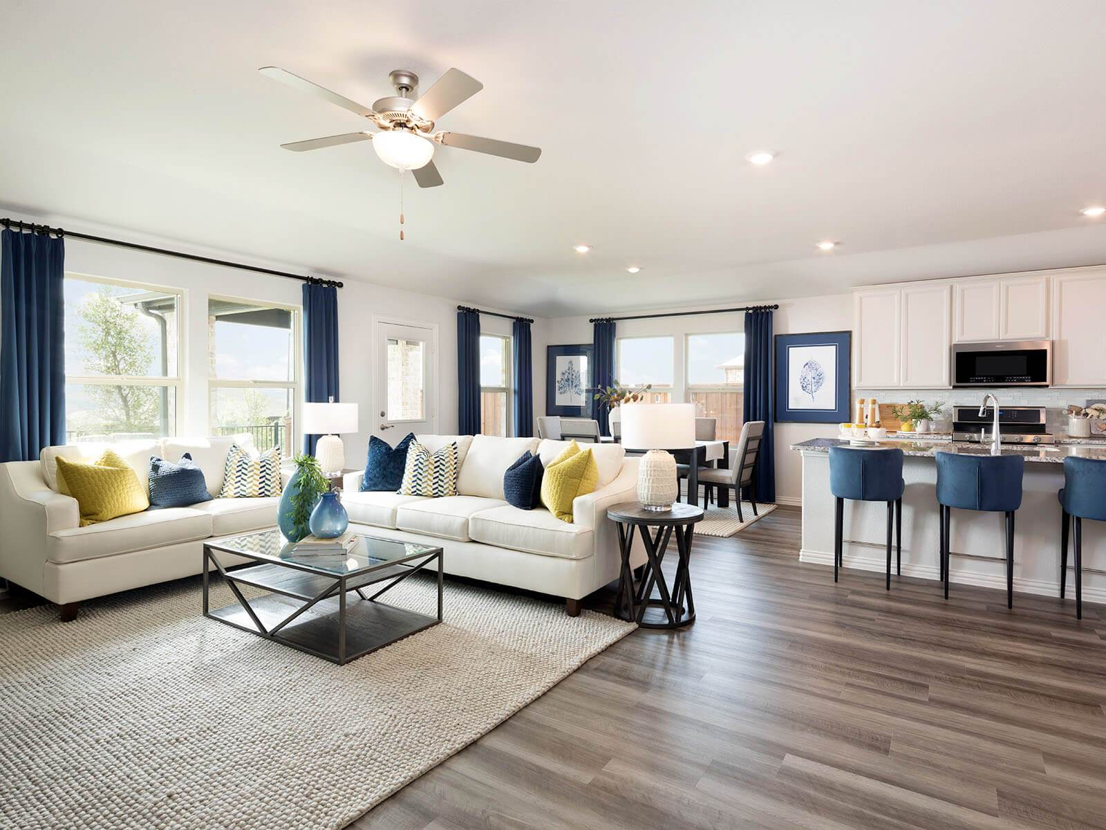 Living Area featured in The Preston By Meritage Homes in Dallas, TX