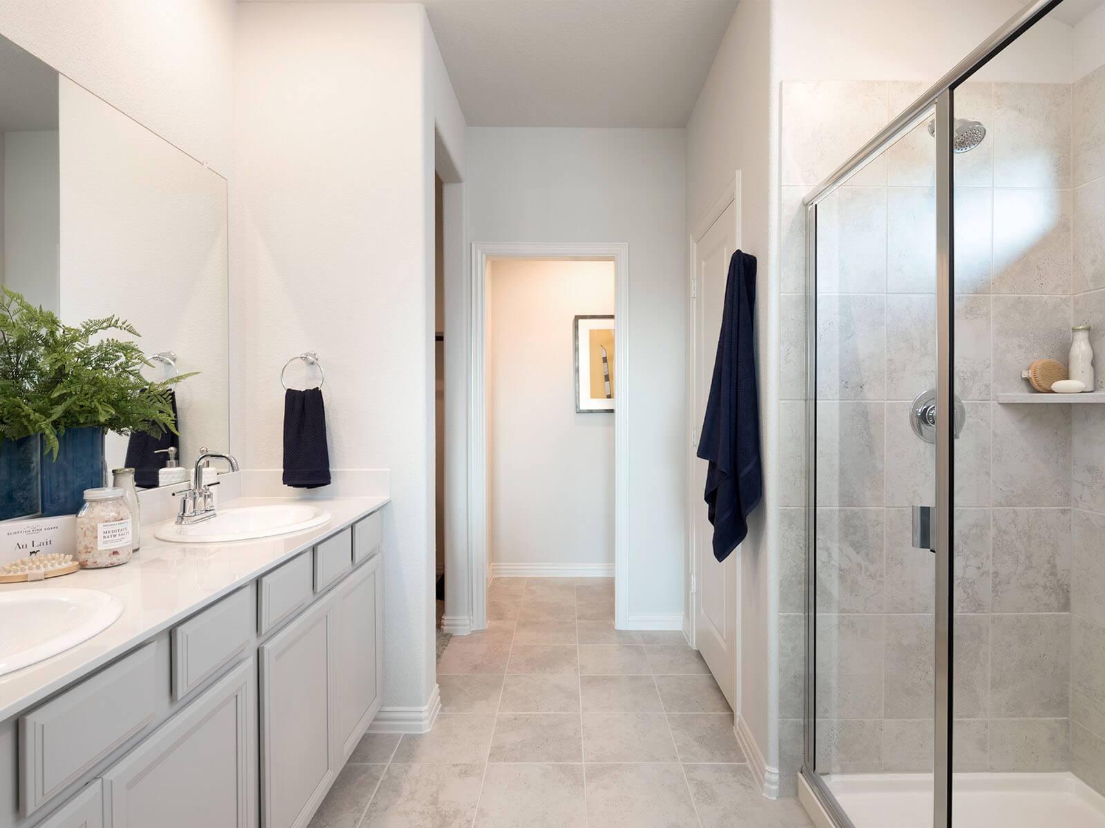 Bathroom featured in The Preston By Meritage Homes in Dallas, TX