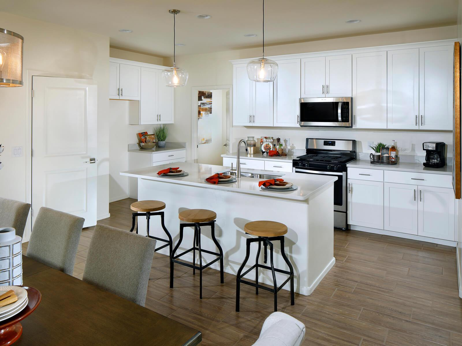 Kitchen featured in the Mascota By Meritage Homes in Tucson, AZ