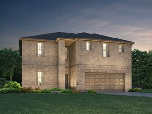 The Kendall (L485) - Central Park Square: Texas City, Texas - Meritage Homes
