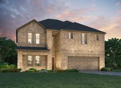 The Kendall (C485) - Riverstone Ranch - The Manor - Classic: Pearland, Texas - Meritage Homes