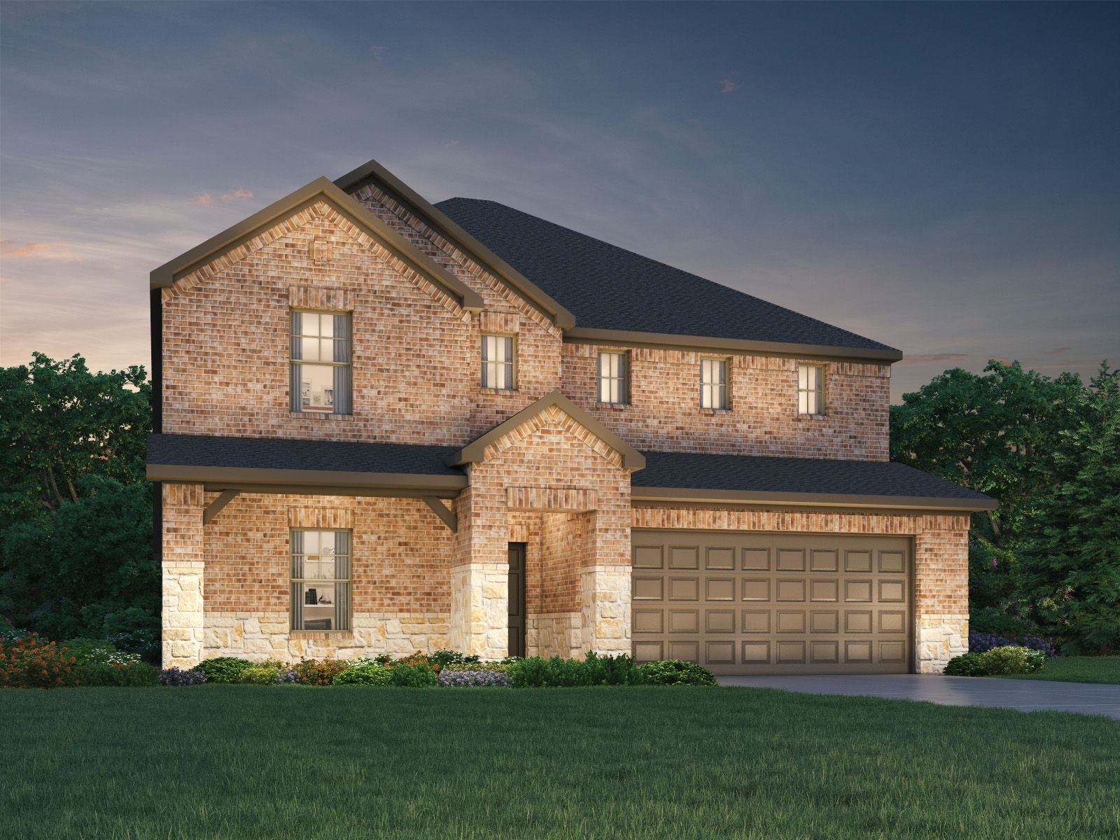 Exterior featured in The Kessler By Meritage Homes in Fort Worth, TX