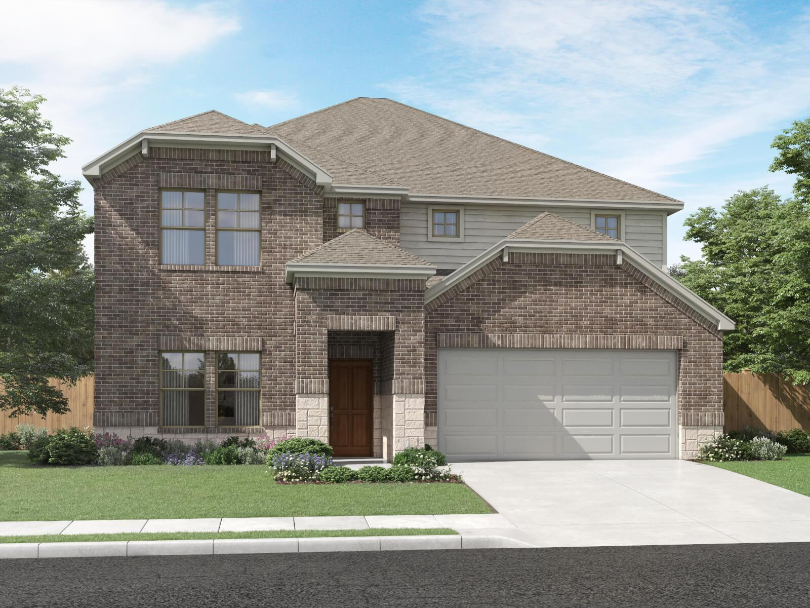 Exterior featured in The Legacy (C453) By Meritage Homes in San Antonio, TX