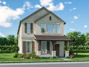 The Dorset - Ranch Park Village - Cottage Series: Sachse, Texas - Meritage Homes