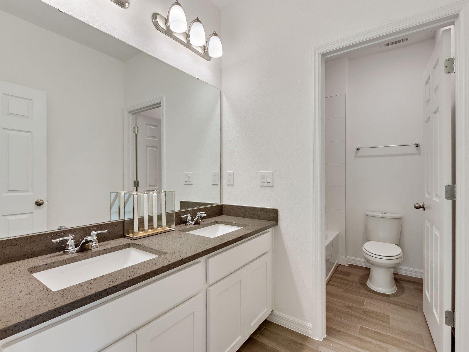 Bathroom featured in the Tennyson By Meritage Homes in Daytona Beach, FL