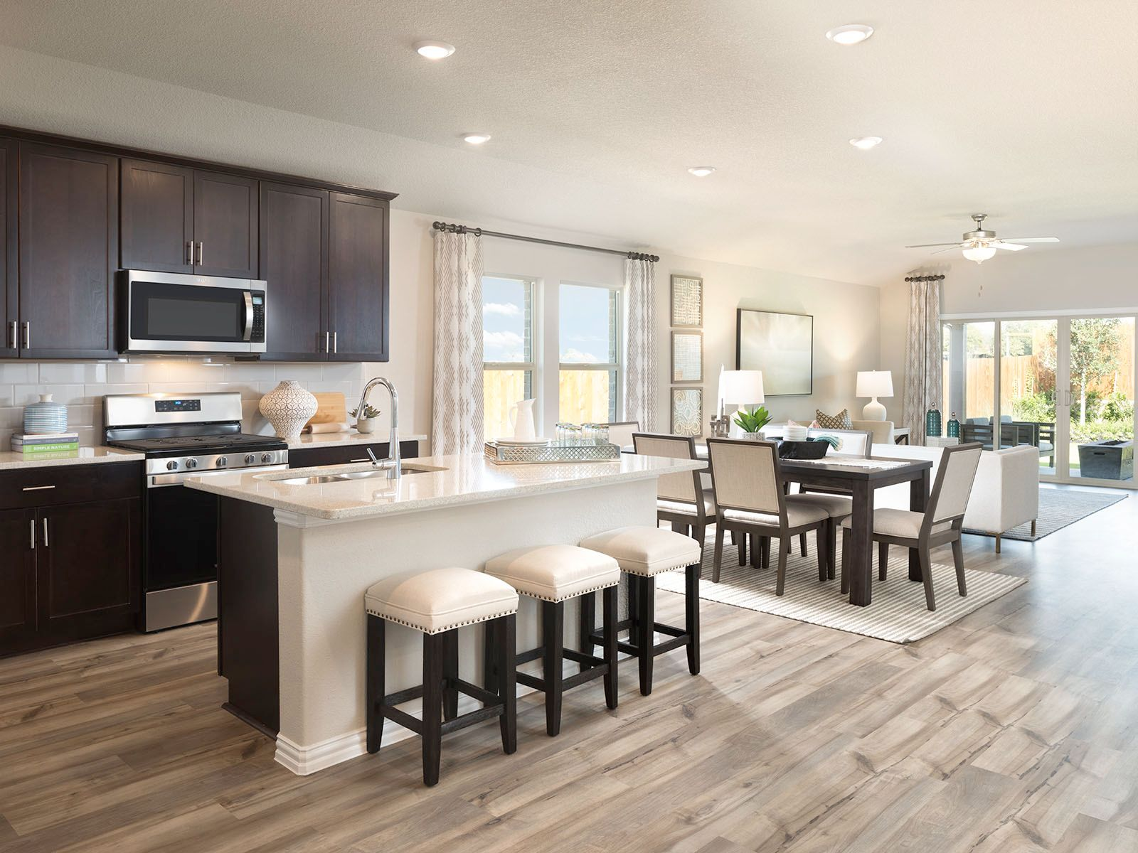 Kitchen featured in The Oleander By Meritage Homes in Dallas, TX