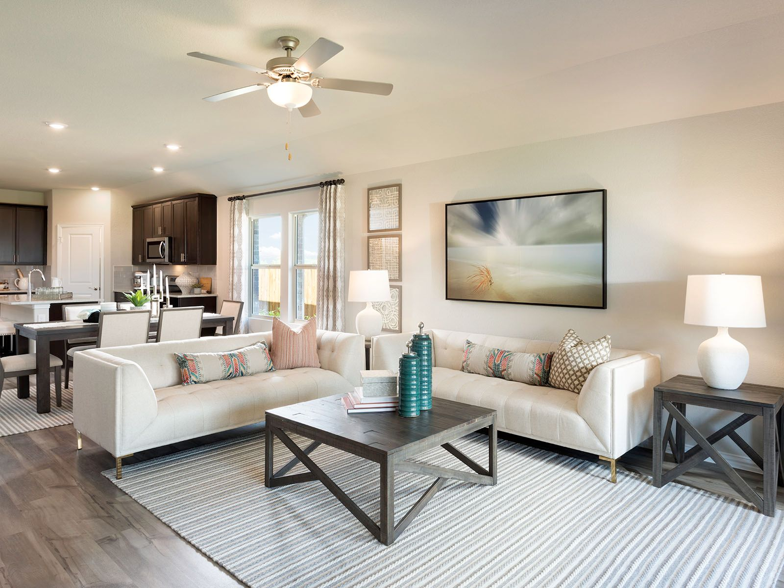 Living Area featured in The Oleander By Meritage Homes in Dallas, TX