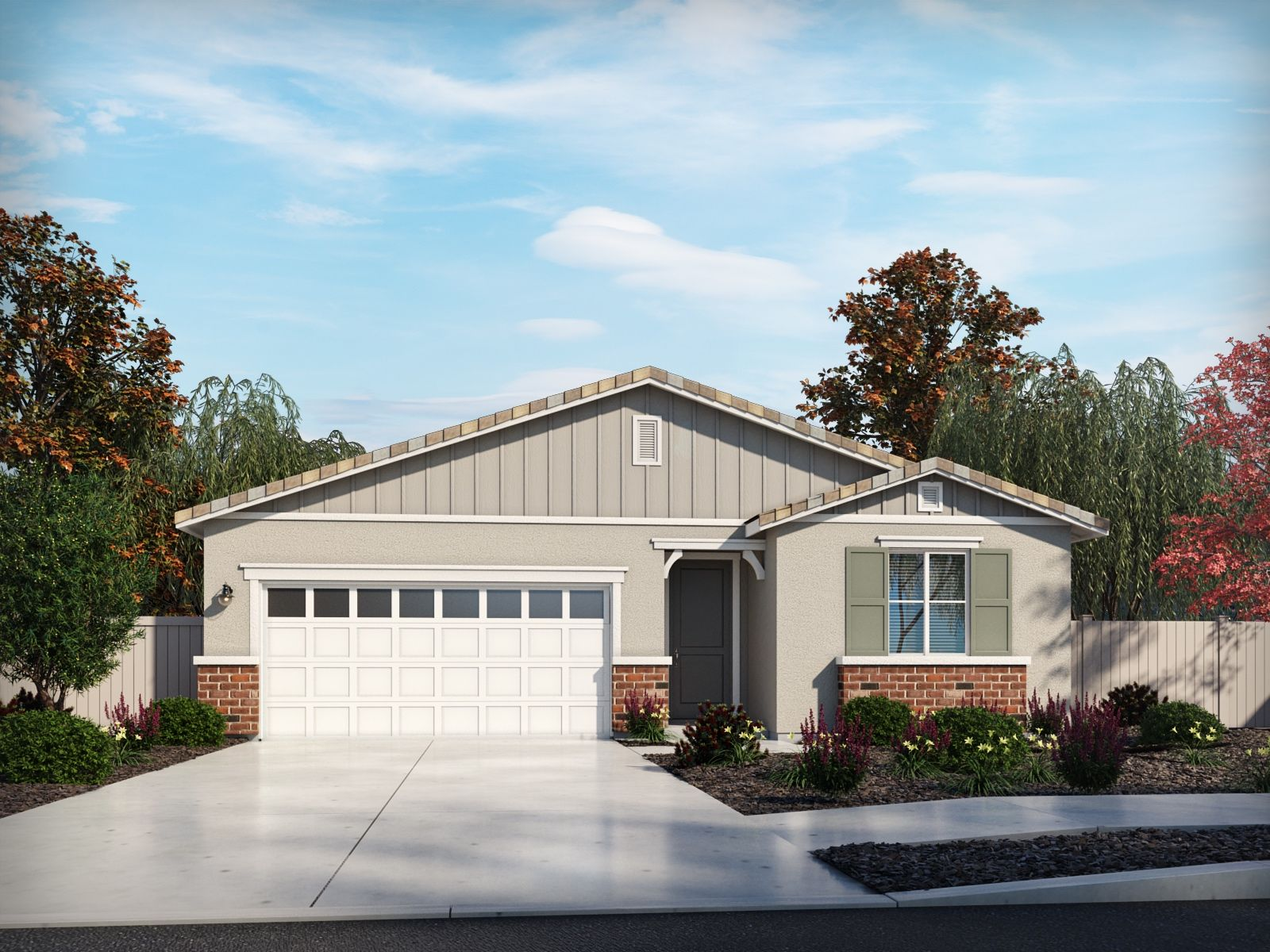 Exterior featured in the Residence 1 By Meritage Homes in Riverside-San Bernardino, CA