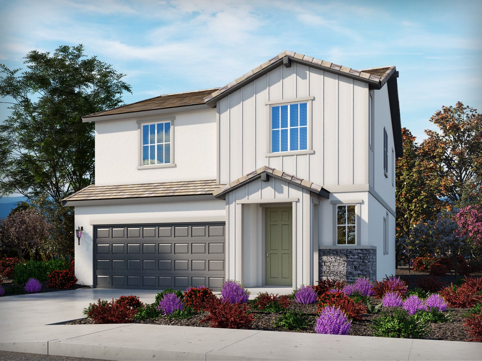 Exterior featured in the Residence 1 By Meritage Homes in Oakland-Alameda, CA