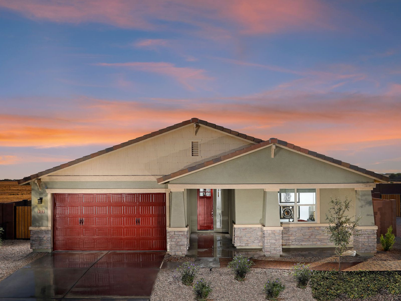 'The Enclave at Mission Royale - Classic Series' by Meritage Homes: Phoenix, AZ in Phoenix-Mesa