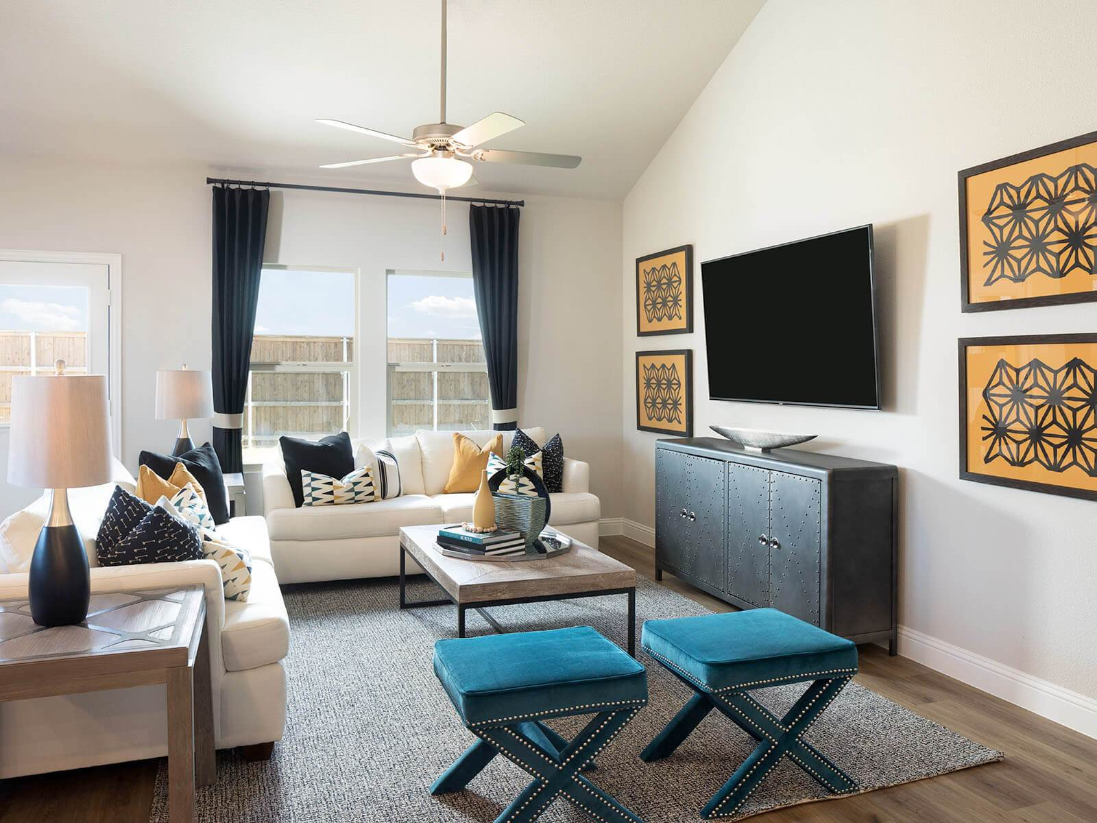 Living Area featured in The Kessler By Meritage Homes in Dallas, TX