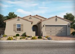 Amber - Vistas at Palm Valley - The Estates: Goodyear, Arizona - Meritage Homes