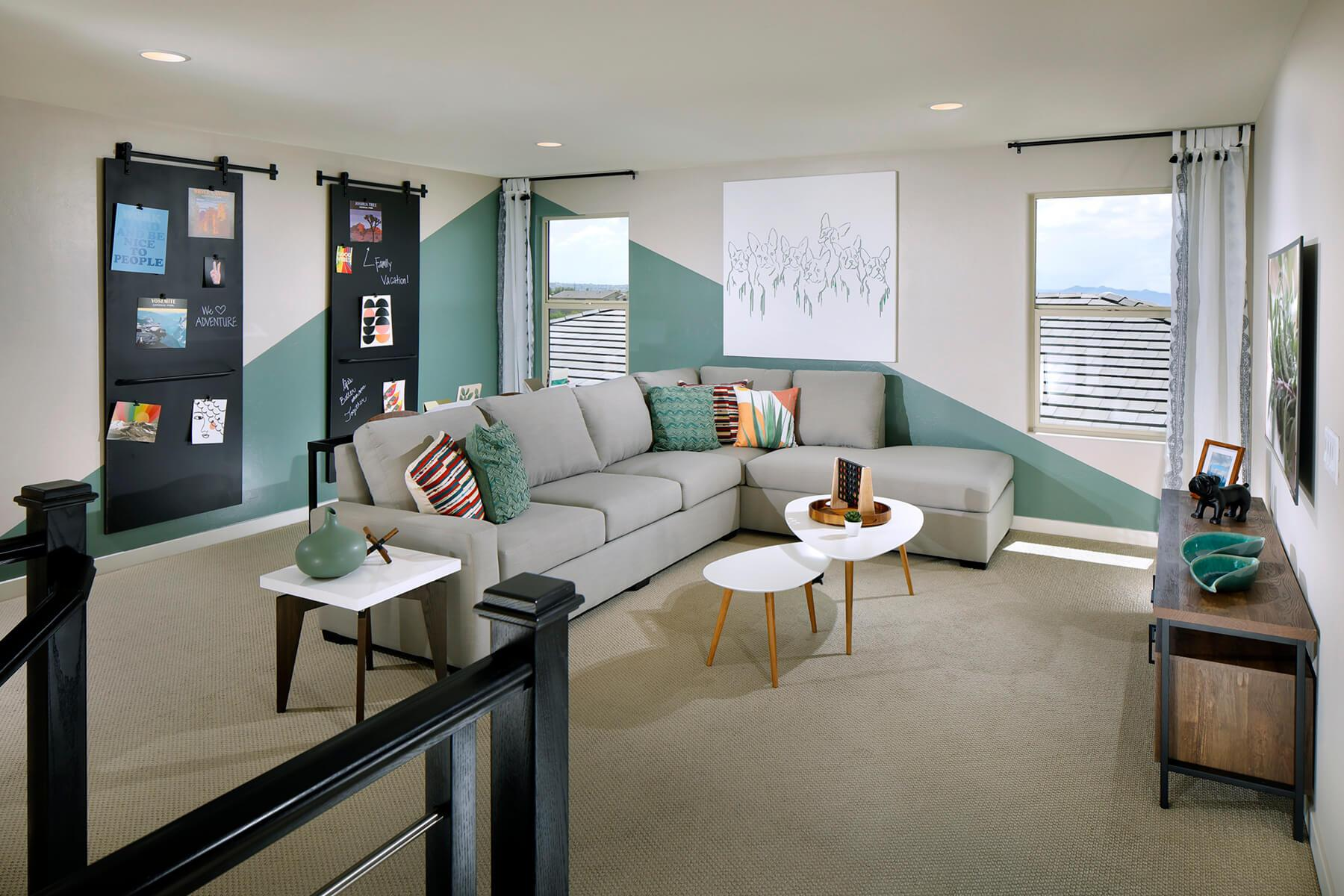 Living Area featured in the Wren By Meritage Homes in Tucson, AZ