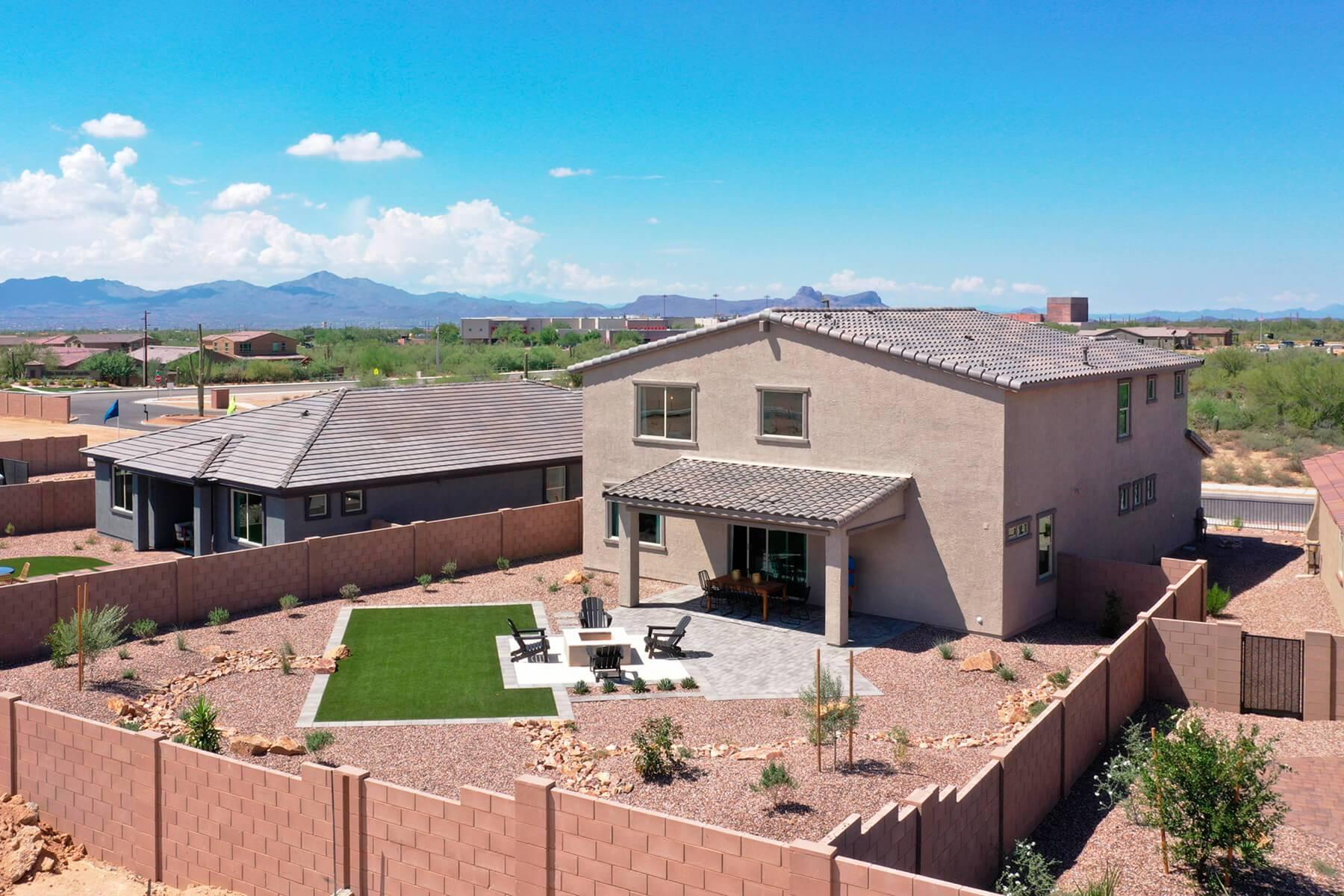 'Saguaros Viejos' by Meritage Homes: Tucson, AZ in Tucson