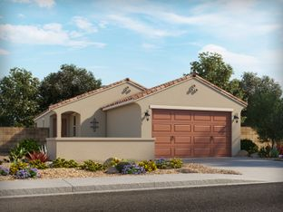 Juniper - The Lakes at Rancho El Dorado: Maricopa, Arizona - Meritage Homes