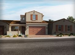 Residence 3 - Triplex - Vistas at Palm Valley - The Villas: Goodyear, Arizona - Meritage Homes
