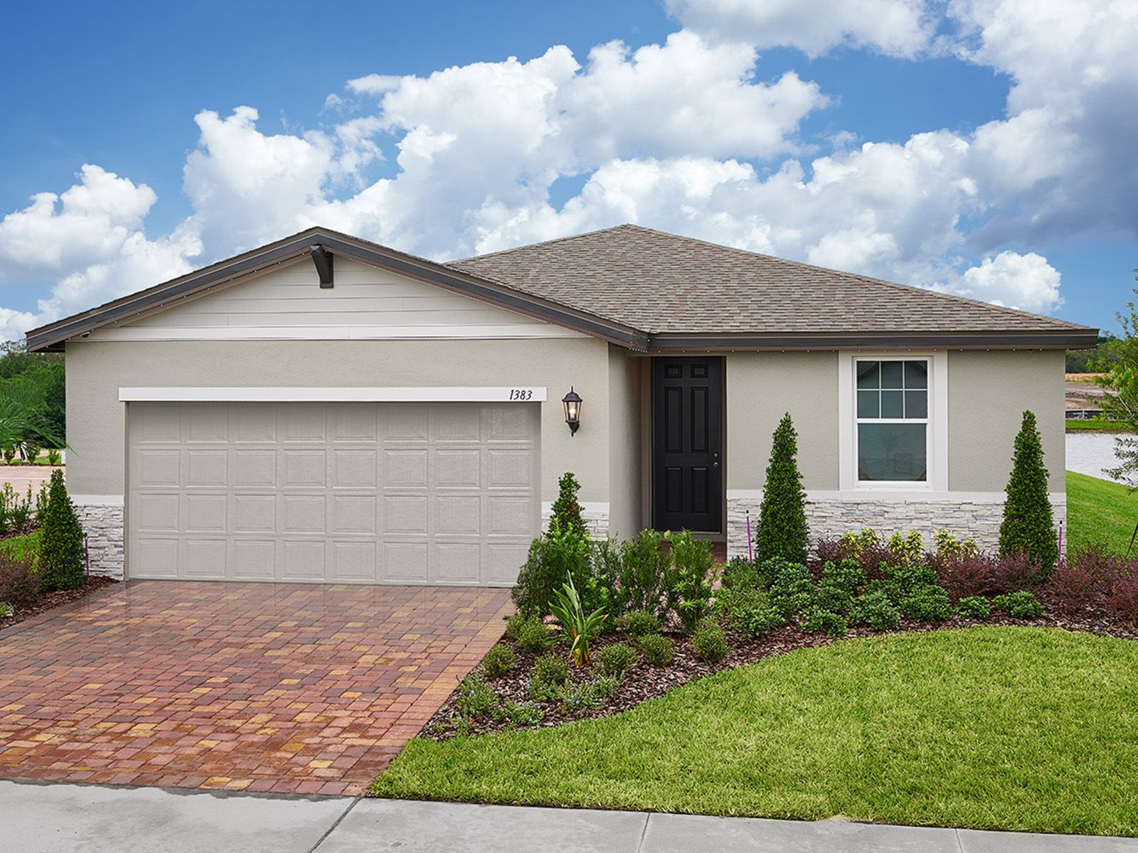 Exterior featured in the Daphne By Meritage Homes in Daytona Beach, FL