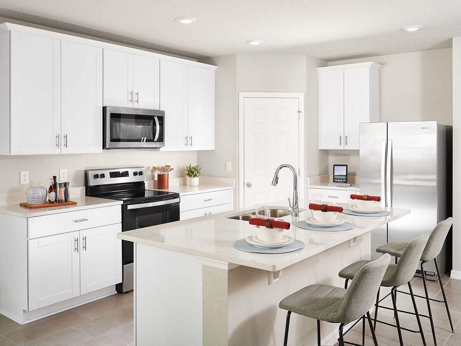 Kitchen featured in the Daphne By Meritage Homes in Daytona Beach, FL