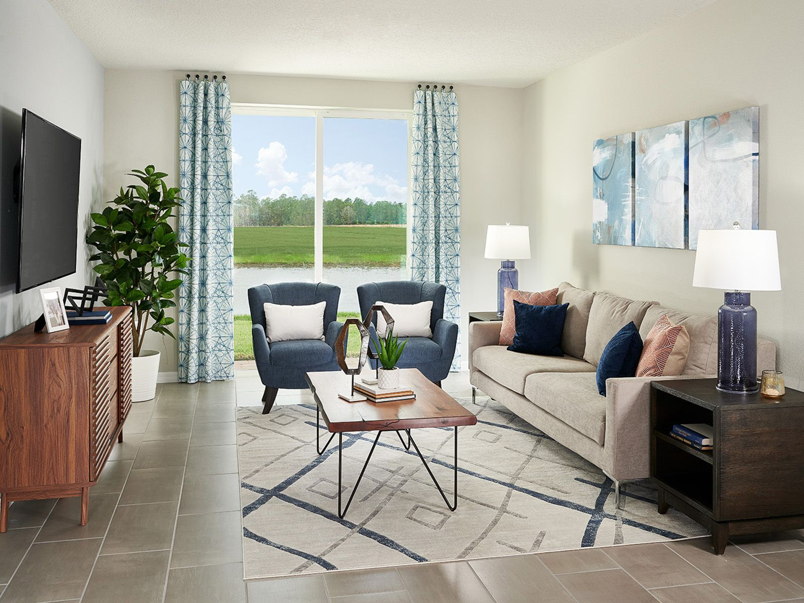 Living Area featured in the Daphne By Meritage Homes in Daytona Beach, FL