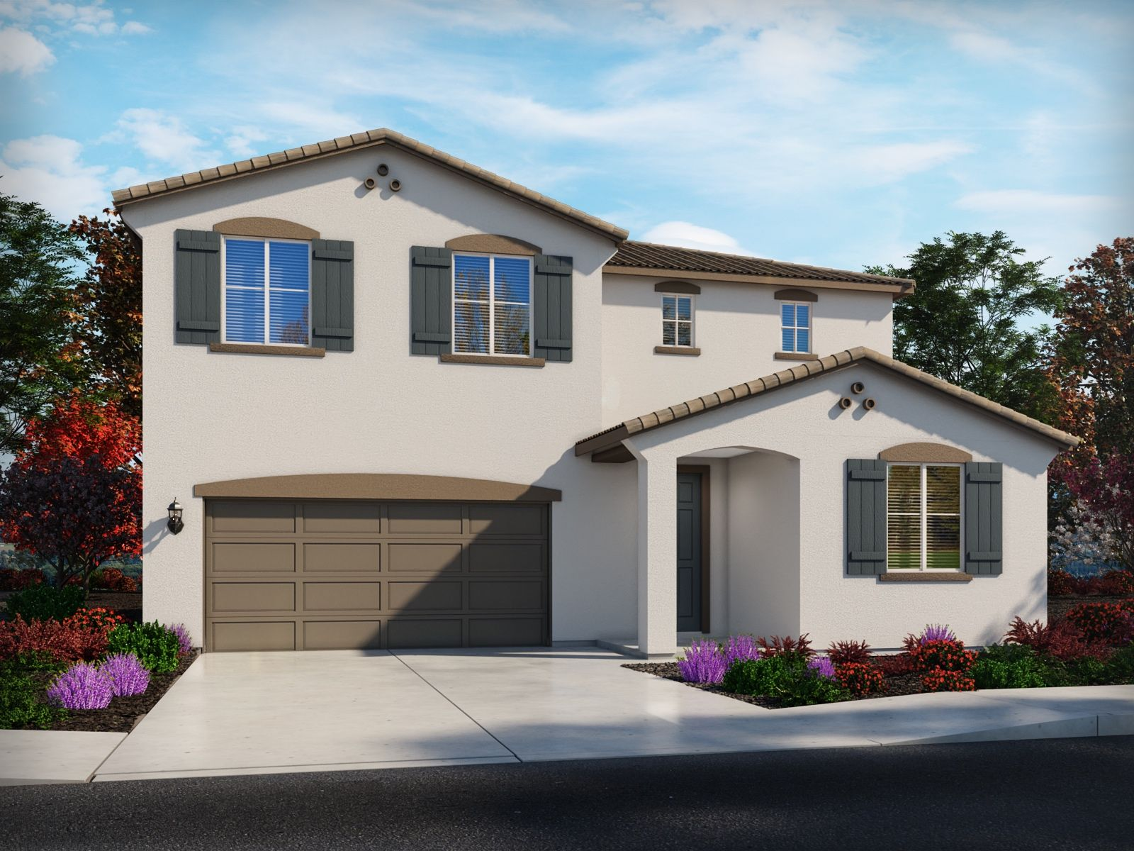 Exterior featured in the Residence 6 By Meritage Homes in Stockton-Lodi, CA