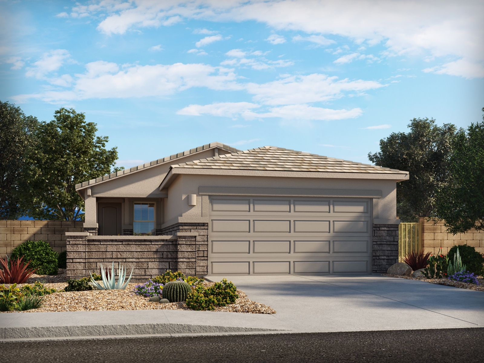 Exterior featured in the Carnival By Meritage Homes in Tucson, AZ