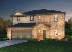 The Hampton (C450) - Highlands North: Hutto, Texas - Meritage Homes