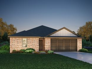 The Greenville (C400) - Highlands North: Hutto, Texas - Meritage Homes