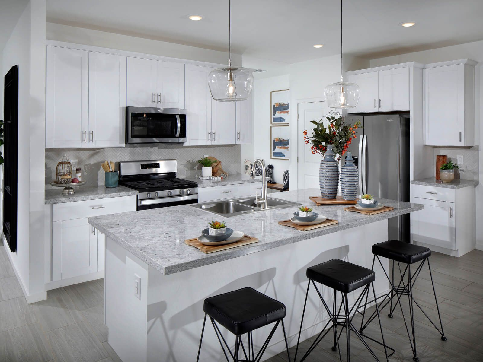 Kitchen featured in the Leslie - 3 Car Garage Included By Meritage Homes in Phoenix-Mesa, AZ