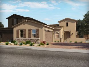 Residence 1 - Triplex - Vistas at Palm Valley - The Villas: Goodyear, Arizona - Meritage Homes