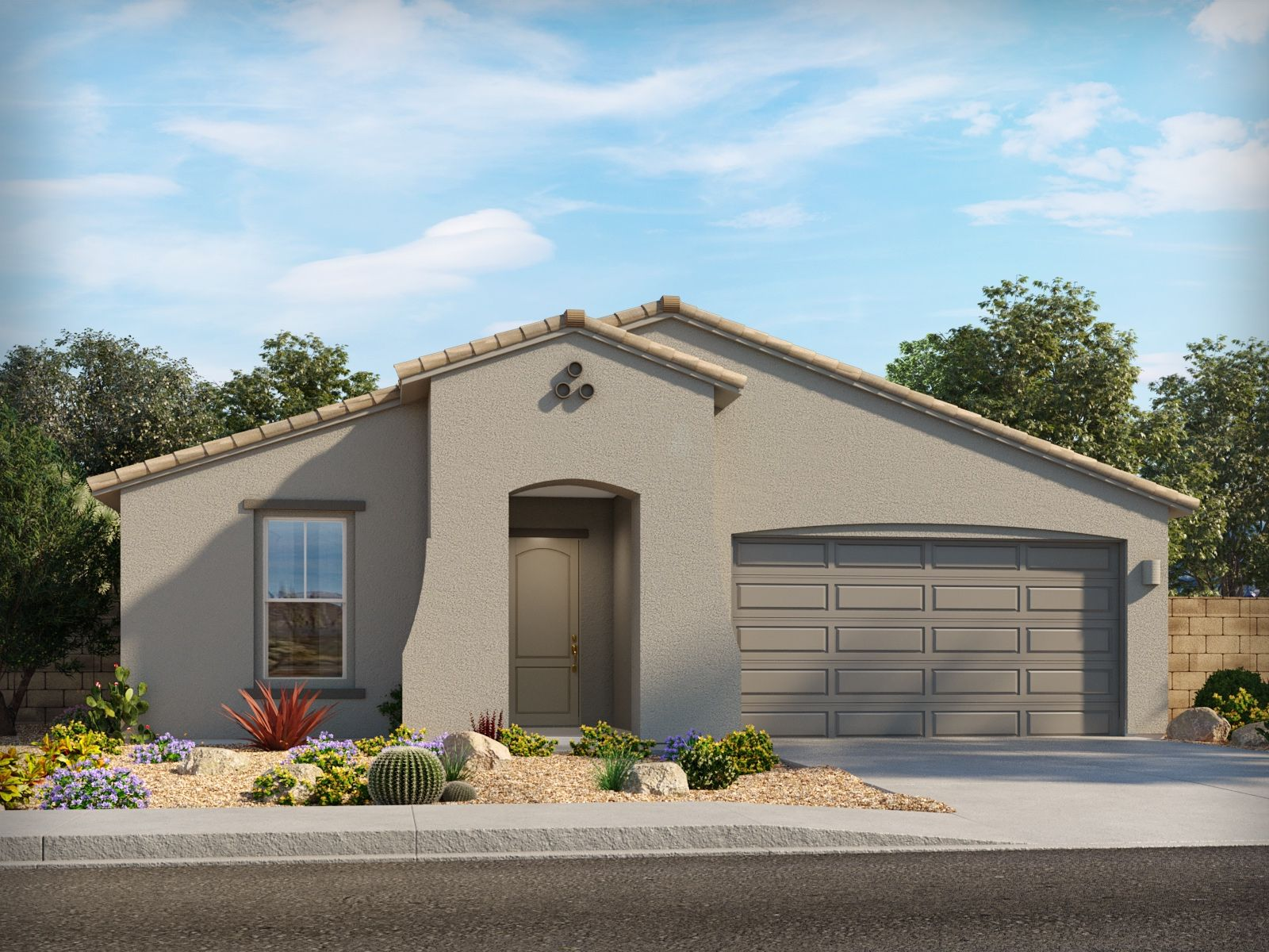 Exterior featured in the Cruise By Meritage Homes in Tucson, AZ