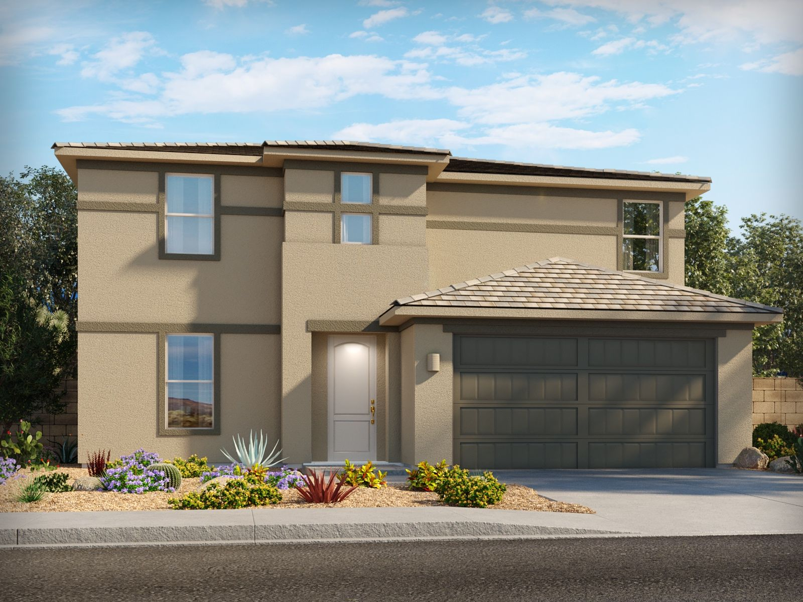 Exterior featured in the Promenade By Meritage Homes in Tucson, AZ