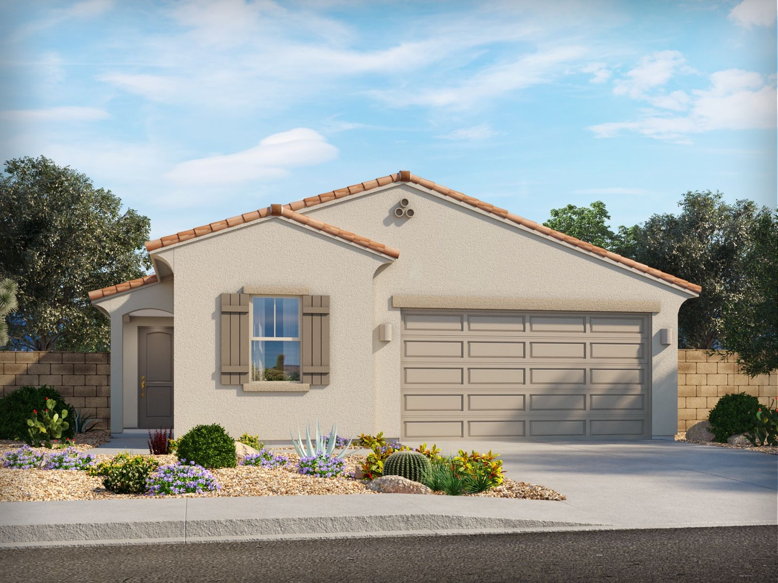 Exterior featured in the Colorado By Meritage Homes in Tucson, AZ