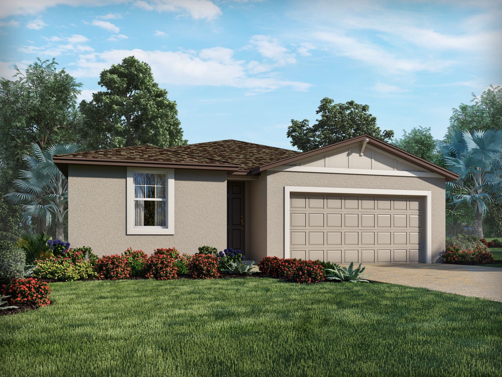 Exterior featured in the Bluebell By Meritage Homes in Daytona Beach, FL