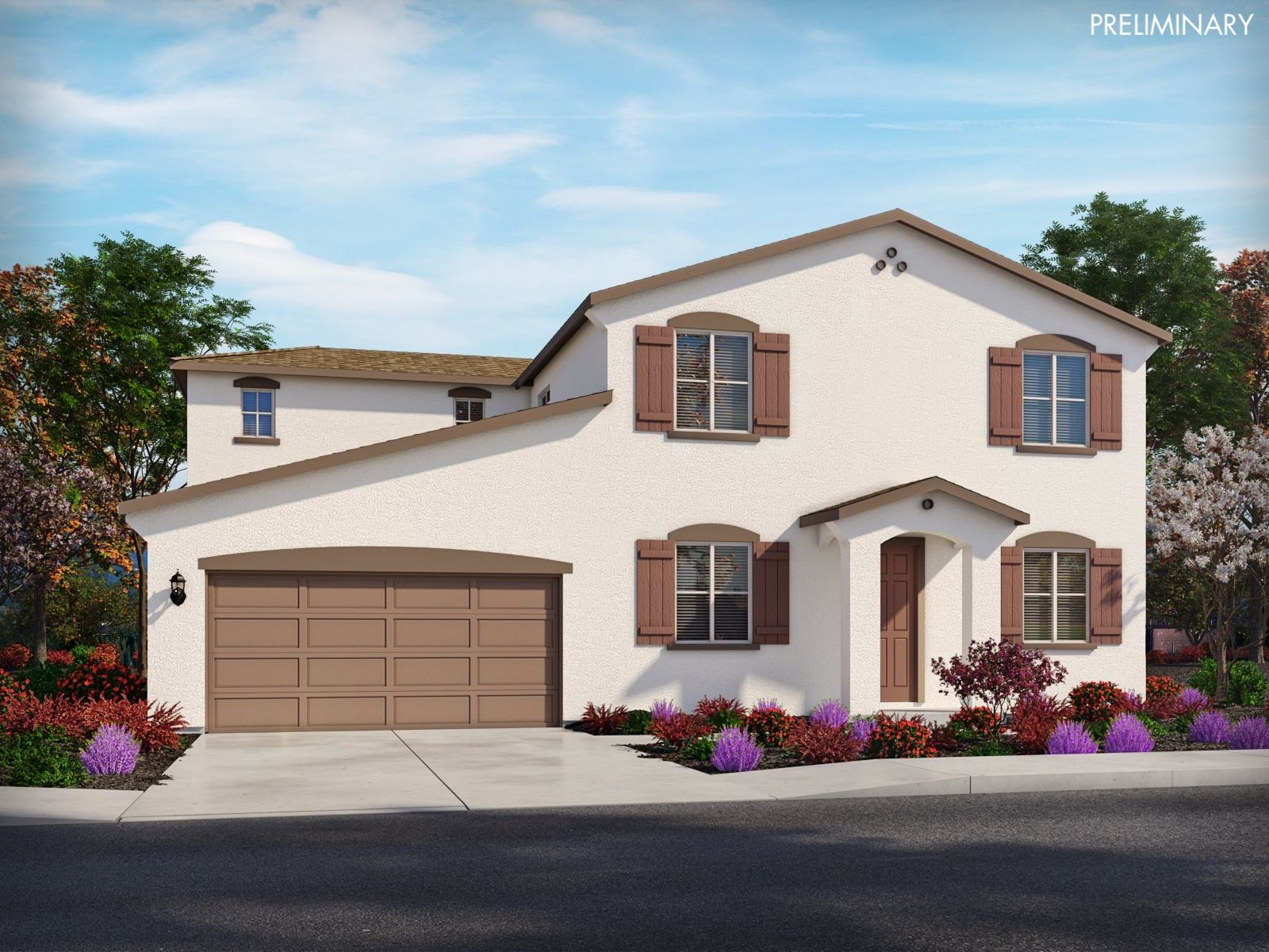 Exterior featured in the Residence 6 By Meritage Homes in Sacramento, CA