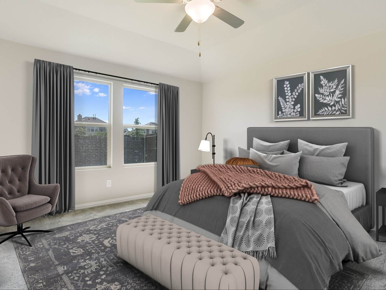 Bedroom featured in The Greenville By Meritage Homes in Dallas, TX