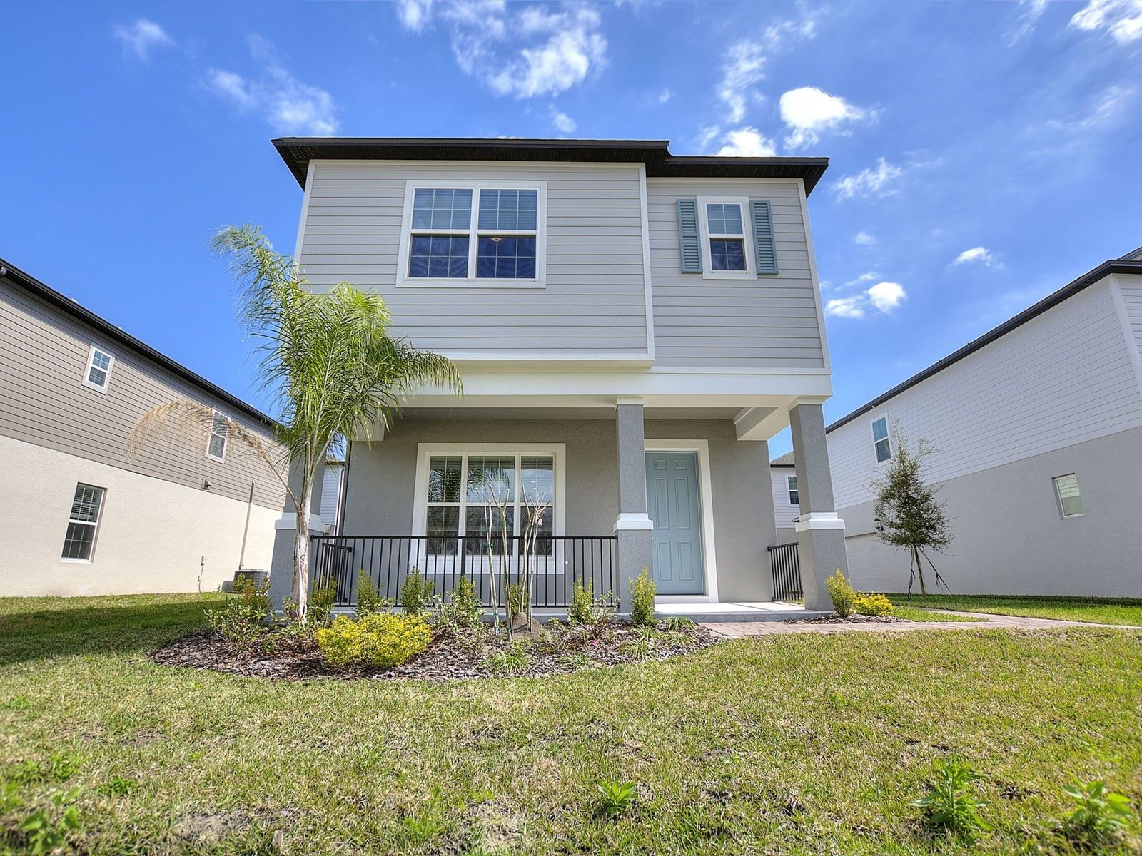 Exterior featured in the Tennyson By Meritage Homes in Daytona Beach, FL