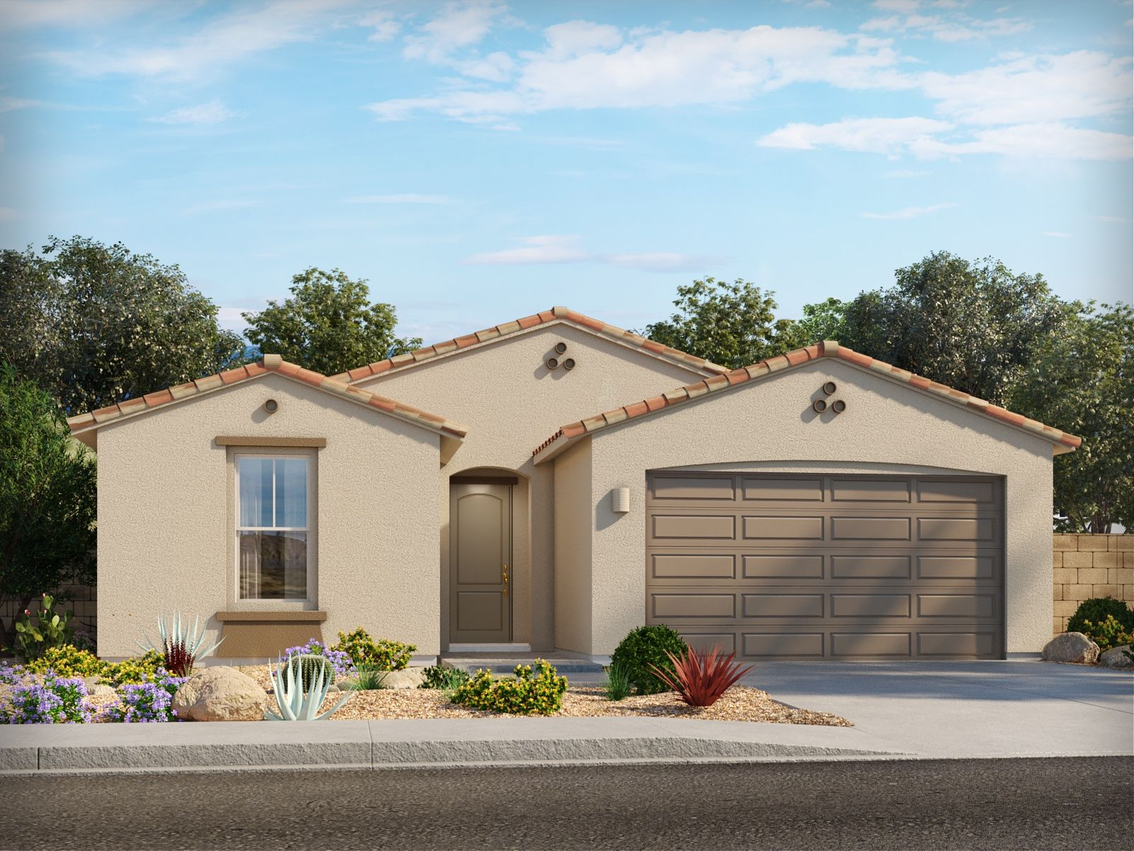 Exterior featured in the Festival By Meritage Homes in Tucson, AZ
