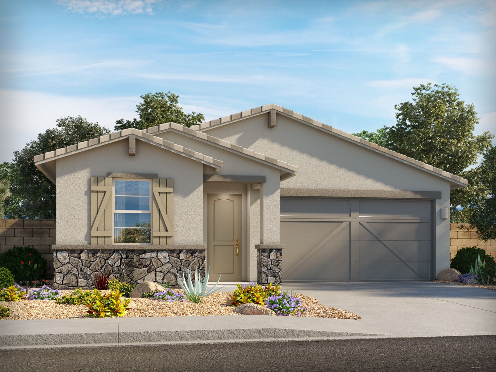 Exterior featured in the Gila By Meritage Homes in Tucson, AZ