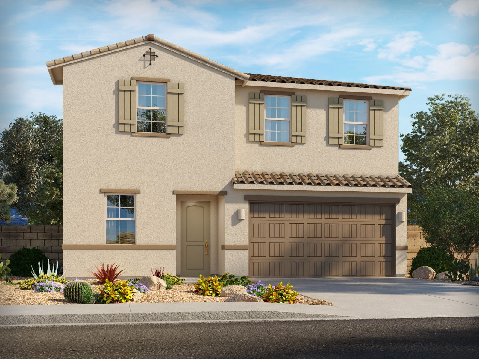 Exterior featured in the Rillito By Meritage Homes in Tucson, AZ
