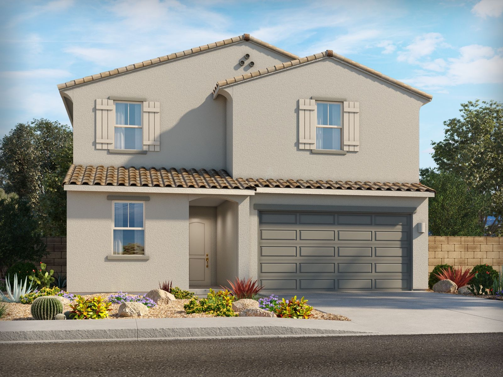 Exterior featured in the Salt By Meritage Homes in Tucson, AZ