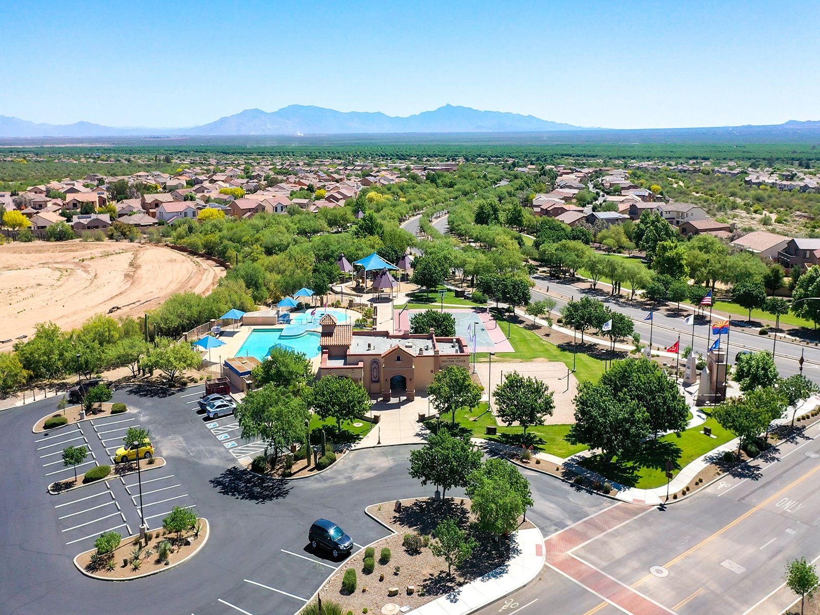 'Enclave at Entrada del Rio' by Meritage Homes: Tucson, AZ in Tucson