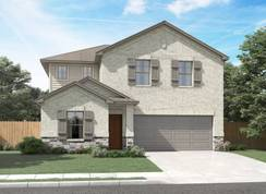 The Winedale (880) - Legendary Trails - Premier Series: Cibolo, Texas - Meritage Homes